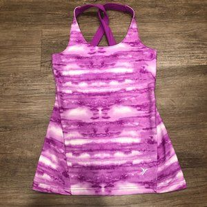 Old Navy Active crossed-strap fitted athletic tank